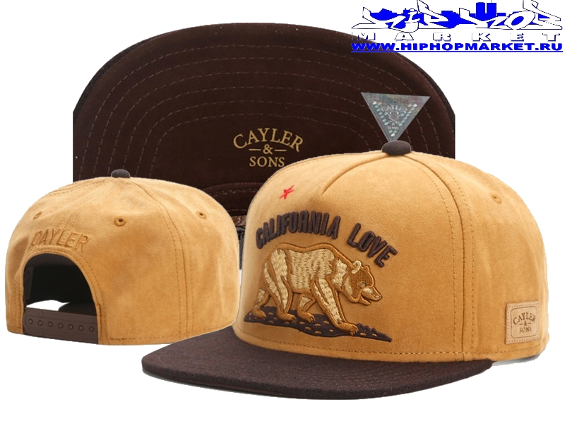 "Кепка Snapback ""California Love"" (Cayler and Sons)"